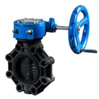 Worm Gear Butterfly Valve