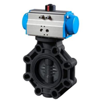 Pneumatic Actuated Butterfly Valve